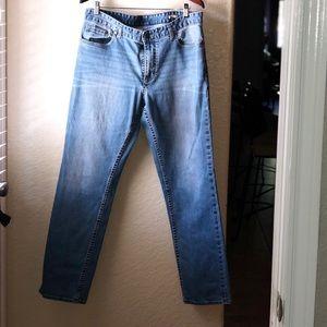 CK Jeans- Slim Straight 36x32